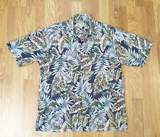 Tori Richard Hawaiian Shirt Cotton Lawn Large