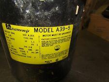 Sid Harvey A39-5 Oil Burner Motor 316P 944 1/6 HP 3450 RPM 115v