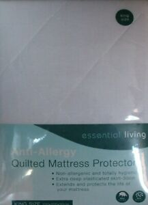 King Size Quilted Mattress Protector