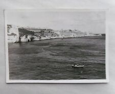 1946 B/W Photograph. View of Valletta, Malta #4. Taken from Troop Carrier Ship