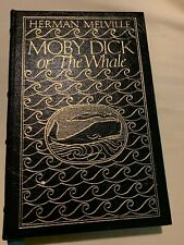 MOBY DICK or THE WHALE - HERMAN MELVILLE - Easton Press Greatest Books LEATHER.