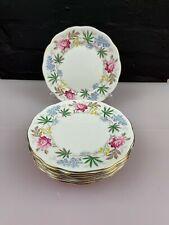More details for 8 x queen anne bone china verona tea / side plates 6.5