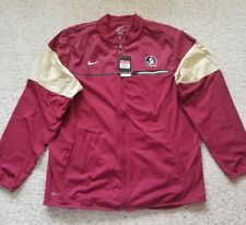 Nike Florida State Men's Dri Fit Full Zip Sideline Jacket Sz L