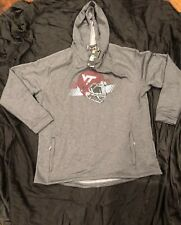 Virginia Tech Under Armour NCAA Men's Tech Terry Hoodie Sweatshirt Grey 2XL New