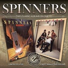 The Spinners - Can't Fake the Feelin / Labor of Love [New CD] UK - Import