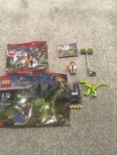 LEGO Jurassic World 30320 Gallimimus Trap & dr wu