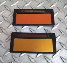 Cool Blue Gold Bronze Auto Darkening Welding Lens Shade 10 11 Weld Lens 2x425