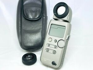 [TOP MINT w/ CASE] Sekonic L-358 Flash Master Digital Light Meter From JAPAN