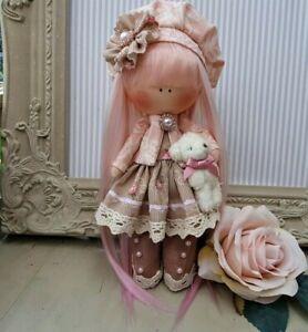 Rag doll handmade in the UK Tilda doll Ooak doll Art doll LOUISE 8 inch tall