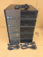 5x Dell Optiplex 3010 Computer i5 3450 3.10 Quad Core 4Gb DVDRW School Work