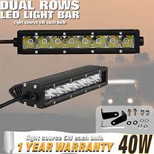 9 pouce 40W 30 degré CREE UNO lumière LED BARRE Tout Terrain Jeep Utv