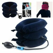 Neck Relief Pillow Cervical Air Inflatable Collar Brace Support Device