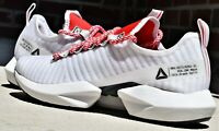 REEBOK SOLE FURY SE - New Men's White Black Red Running Shoes Sneakers