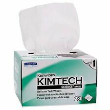 Kimberly Clark KIMTECH KIMWIPES Kim Wipes LINTFREE Cloth Task - 1 Box of 280