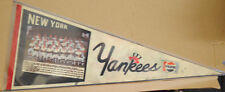 VINTAGE New York Yankees  PICTURE PENNANT CIRCA 1978 DENT GUIDRY MERCER