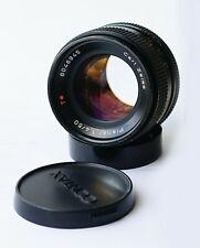 Carl Zeiss Planar f/1.4 50mm T* Lens AEJ Contax C/Y mount