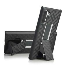 Shellster Hard Case With Kickstand for Samsung Galaxy Note 10 - Black