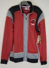 NWT Mens Miami Heat Embroidered Zipway Warm up Jacket Size XL track NBA