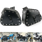 Paire moto Sacoches Sac de selle outil Bag universel Luggage pour Harley Honda