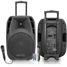 """NEW! TECHNICAL PRO Wave 12 Portable PA Speaker System 12"""" Woofer Bluetooth 1300W"""