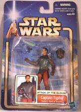 2002 Star Wars: AOTC Hasbro Action Figure - CAPTAIN TYPHO PADME HEAD OF SECURITY