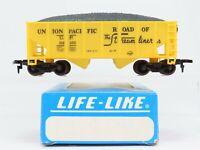 HO Scale Life-Like UP Union Pacific 2-Bay Hopper Car #32100 RTR Model Train