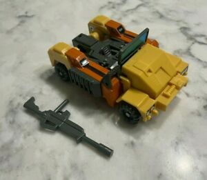 Vintage 1984 Select Convertors Defender Wheels Transformer Parts w/ Gun