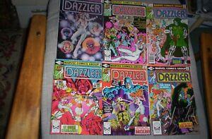 Dazzler#1-8,11-14 1981,1982 DR.DOOM, HULK, GALACTUS,SHE-HULK