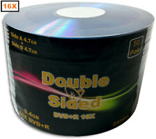 100-Pak 9.4GB Double-Sided 16X DVD+R's (record both sides of disc)
