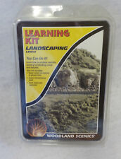 Woodland Scenics Landscaping Learning Kit LK954 NIP Landscapes a 2' X 2' Surface