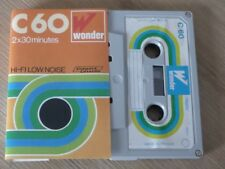 Tape Cassette K7 WONDER C 60 Vintage Rare