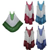women dress tunic ladies summer beach top kaftan hippie boho party dress #1515