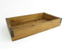 Tablett Holztablett massiv aus dicken, altem Holz Antik-Mittelalter-Stil Retro