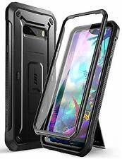 LG G8X thinQ 2019 SUPCASE UB Pro Rugged Holster Kickstand Case +Screen Protector