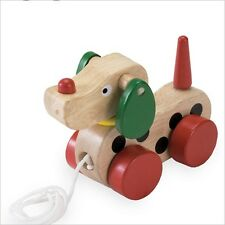Wooden Pull Toy - Puppy - Pull Along 3106