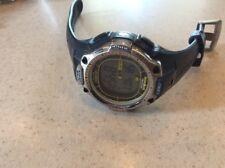 Timex Ironman Triathlon Shock Watch Indiglo 50 Lap Memory Solar 200 M WR Tuff