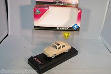 SOLIDO 4542 RENAULT DAUPHINE TOIT OUVRANT CREAM MINT BOXED RARE SELTEN!!