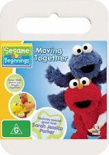 Sesame Beginnings - Moving Together (DVD, 2008) Region 4 Children's DVD Good