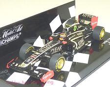1:43 Minichamps Lotus F1 R. décimas 2012 Showcar 410-120080