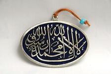 Wall hanging blue decor islam allah amulet charm hamsa luck evil eye god koran