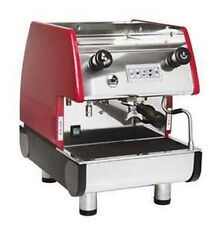 La Pavoni Commercial Espresso Machine Maker PUB 1V-R Red, 1 Group, Volumetric