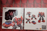 IN STOCK Transformers IronFactory IF EX-40 EX40 Mini One Man Army Figure