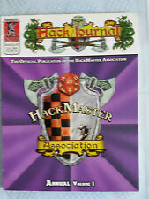 hackmaster annual vol 1 4E fantasy RPG roleplaying kenzer co