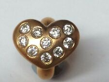 Endless Jewelry Charm White Heart of Love 61501-2 rrp £95