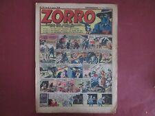 ZORRO N°92 4 MARS 1948 ERIK PELLOS OULIE CLARENCE GRAY SAINT OGAN BON ETAT
