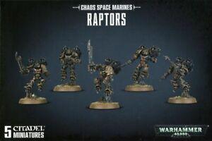 Chaos Space Marines - Raptors - Warhammer 40K - BNIB
