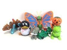 Wind-Up Toy Lot 7 Butterfly Dinosaur Goofy Penguin Halloween Pumpkin Figures Euc