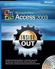 Microsoft Office Access 2003 Inside Out (Bpg-Inside Out), John L. Viescas, Good
