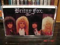 Britny Fox ~  Britny Fox ~  Vintage Glam Metal Cassette  Columbia – FCT 44140