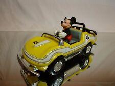 VINTAGE DISNEY RACING CAR MICKEY MOUSE CORVETTE? #45 - L16.5cm - GOOD CONDITION